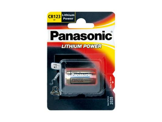 Алкална батерия Panasonic Lithium Power CR123