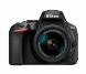 Фотоапарат Nikon D5600 Black  тяло + Обектив Nikon AF-P DX NIKKOR 18-55mm f/3.5-5.6G VR