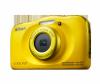 Фотоапарат Nikon Coolpix W100 Жълт + раница
