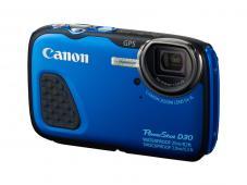 Фотоапарат Canon PowerShot D30 Blue