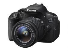 Фотоапарат Canon 700D тяло + Обектив Canon EF-s 18-55mm f/3.5-5.6 IS STM