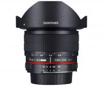 Обектив Samyang 8mm f/3.5 UMC Fish-Eye CS II за Canon