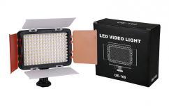 Комплект диодно осветление NanGuang OE-160 с адаптер за АА батерии