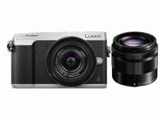 Фотоапарат Panasonic Lumix DMC-GX80 Silver тяло + Обектив Panasonic Lumix G Vario 12-32mm f/3.5-5.6 ASPH. + Обектив Panasonic LUMIX G VARIO 35-100mm f/4.0-5.6 ASPH. MEGA O.I.S.