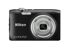 Фотоапарат Nikon Coolpix A100 Black + Калъф Case Logic PSL-16 + Памет SDHC Lexar Premium II 300x (45MB/s) 8GB Class 10 (U1)