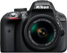Фотоапарат Nikon D3300 Black тяло + Обектив Nikon AF-P DX Nikkor 18-55mm f/3.5-5.6G VR