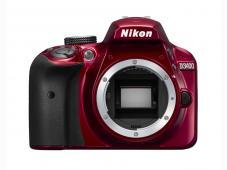 Фотоапарат Nikon D3400 Red тяло