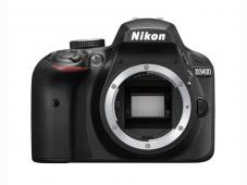 Фотоапарат Nikon D3400 Black тяло + Комплект Nikon DSLR Accessory Kit 3in1 (CF-EU11 Bag + EN-EL14a + 16GB SD)