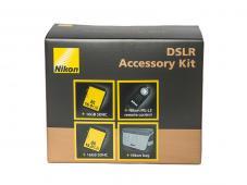 Комплект Nikon DSLR Accessory Kit (2x16GB SDHC карта памет, Дистанционен спусък Nikon ML-L3, Чанта Nikon)
