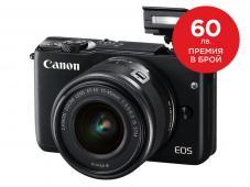 Фотоапарат Canon EOS M10 Black kit (EF-M 15-45mm IS STM)