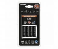 Зарядно устройство Panasonic Eneloop Pro + 4бр. 2450mAh