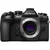 Фотоапарат Olympus OM-D E-M1 II Black тяло + Батерия Li-Ion Olympus BLH-1