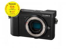 Фотоапарат Panasonic Lumix DMC-GX80 Black тяло + Памет SDHC SanDisk Ultra 32GB (80MB/s)