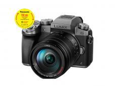 Фотоапарат Panasonic Lumix G7 Silver + обектив Panasonic Lumix G Vario 14-140mm f/3.5-5.6 ASPH. POWER O.I.S.