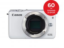 Фотоапарат Canon EOS M10 White тяло