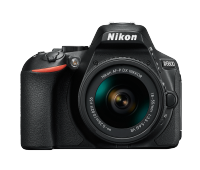 Фотоапарат Nikon D5600 Black  тяло + Обектив Nikon AF-P DX NIKKOR 18-55mm f/3.5-5.6G VR + Памет SDHC SanDisk Ultra 16GB (45MB/s)