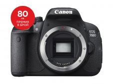 Фотоапарат Canon EOS 700D тяло + Canon EOS Accessory KIT (Чанта, памет 8GB, почистваща кърпичка)