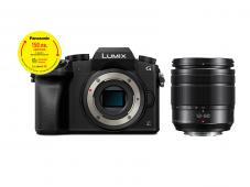 Фотоапарат Panasonic Lumix G7 тяло Black + Oбектив Panasonic Lumix G Vario 12-60mm f/3.5-5.6 ASPH. POWER O.I.S. + Памет SDHC SanDisk Ultra 32GB (80MB/s)