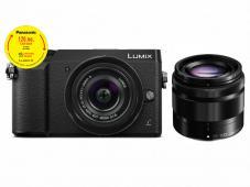 Фотоапарат Panasonic Lumix DMC-GX80 Black тяло + Обектив Panasonic Lumix G Vario 12-32mm f/3.5-5.6 ASPH. + Обектив Panasonic LUMIX G VARIO 35-100mm f/4.0-5.6 ASPH. MEGA O.I.S.