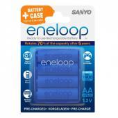 Акумулаторни батерии AA Sanyo Eneloop 2000 mAh (4бр)
