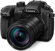 Фотоапарат Panasonic GH5 тяло + Обектив LEICA DG VARIO-ELMARIT 12-60mm f/2.8-4.0 ASPH. POWER O.I.S. + Батерия Li-Ion Panasonic DMW-BLF19E (Bulk)