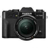 Фотоапарат Fujifilm X-T20 Black тяло + Обектив Fujifilm Fujinon XF 18-55F/2.8-4 R LM ОIS + Батерия Hahnel Li-Ion HL-F126S (заместител на FujiFilm NP-W126S)