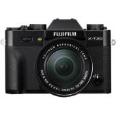 Фотоапарат Fujifilm X-T20 Black тяло + Обектив Fujifilm Fujinon XC 16-50mm F/3.5-5.6 OIS