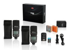 Светкавица Hahnel MODUS 600RT Wireless Pro Kit за Canon + Комплект софтбокс Hahnel 80 + студиен статив