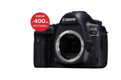 Фотоапарат Canon EOS 5D Mark IV тяло + Алуминиев статив с ябълковидна глава Manfrotto 190XPRO3-BHQ2 + Батериен грип Canon BG-E20