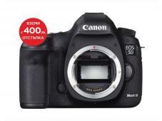 Фотоапарат Canon EOS 5D Mark III тяло + Алуминиев статив с ябълковидна глава Manfrotto 190XPRO3-BHQ2