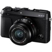 Фотоапарат Fujifilm X-E3 Черен тяло + Обектив Fujifilm Fujinon XF 23mm F/2 R WR