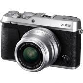 Фотоапарат Fujifilm X-E3 Сребрист тяло + Обектив Fujifilm Fujinon XF 23mm F/2 R WR