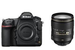 Фотоапарат Nikon D850 тяло + Обектив Nikon AF-S Nikkor 24-120mm f/4G ED VR + Батериен грип Nikon MB-D18