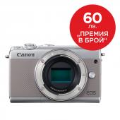 Фотоапарат Canon EOS M100 Сив тяло + Canon Connect Station CS100