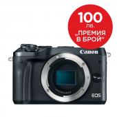 Фотоапарат Canon EOS M6 тяло Black  + Памет SDHC SanDisk Ultra 16GB (80MB/s)  + Canon Connect Station CS100