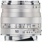 Обектив Zeiss Planar T* 50mm f/2 ZM за Leica M (сребрист)