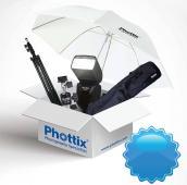 Светкавица Phottix Mitros KIT TTL за Canon