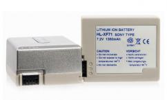 Батерия Hahnel Li-Ion HL-XF71 (заместител на Sony NP-FF70/NP-FF71)