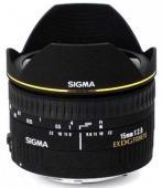 Обектив Sigma 15mm f/2.8 EX DG fisheye diagonal за Canon
