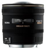 Обектив Sigma 4.5mm f/2.8 EX DC fisheye circular за Canon