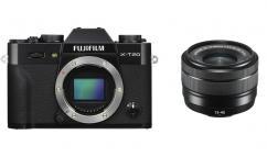 Фотоапарат Fujifilm X-T20 Black тяло + Обектив Fujifilm Fujinon XC 15-45mm f/3.5-5.6 OIS PZ