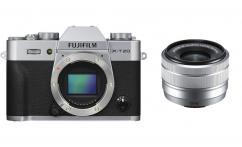 Фотоапарат Fujifilm X-T20 Silver тяло + Обектив Fujifilm Fujinon XC 15-45mm f/3.5-5.6 OIS PZ