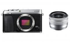 Фотоапарат Fujifilm X-E3 сив тяло + Обектив Fujifilm Fujinon XC 15-45mm f/3.5-5.6 OIS PZ