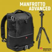 Фотораница Manfrotto Advanced Tri Large + статив Elements Small