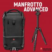 Фотораница Manfrotto Advanced Tri Medium Black + статив Manfrotto Elements Small