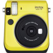 Моментален фотоапарат Fujifilm Instax mini 70 Yellow 2