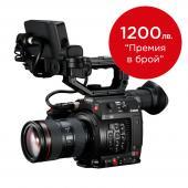 Видеокамера Canon EOS C200 тяло + Обектив Canon EF 24-105mm f/4L II IS + SanDisk 128GB Extreme PRO CFast 2.0
