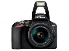 Фотоапарат Nikon D3500 Black + Обектив Nikon AF-P DX Nikkor 18–55 G VR + Обектив Nikon AF-S Nikkor 50mm f/1.8G + Обектив Nikon AF-P DX Nikkor 70-300MM F/4.5-6.3G ED VR