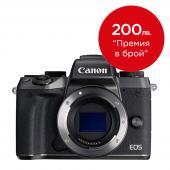 Фотоапарат Canon EOS M5 Black Тяло + Батерия Li-Ion Canon LP-E17