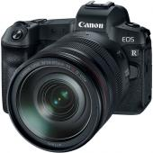 Фотоапарат Canon EOS R тяло + Обектив Canon RF 24-105mm f/4L IS USM + Адаптер Canon EF-EOS R